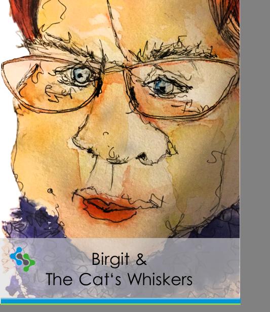 Birgit & the cat's whiskers